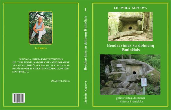 """L. M. Kupcovos """"Bendravimas su dolmenų Išminčiais"""". Gegužės mėn. pasirodys 6 dalis."""