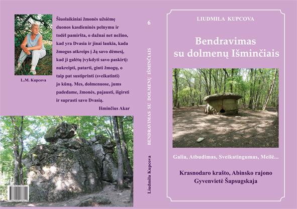 Knyga – bendravimas su dolmenų Išminčiais