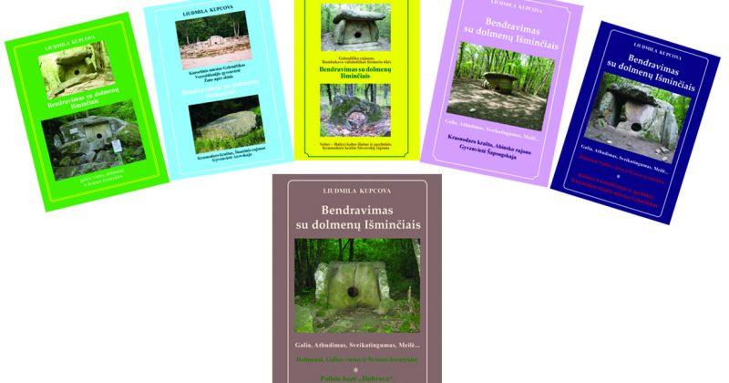 """išleista aštunta L. Kupcovos """"Bendravimas su dolmenų Išminčiais"""" knyga."""